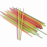 Mini Straws for Crafts (NEON SLIM) - 5.25