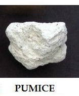 Pumice - Igneous Rock, 1.5+ Inch (sold individually)