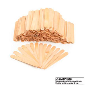 Wood Craft Popsicle Sticks 150 ct
