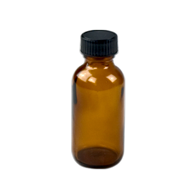 Amber Glass Bottle 20ml with Closure
