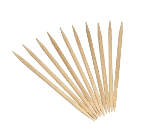 Wood Toothpicks x 10