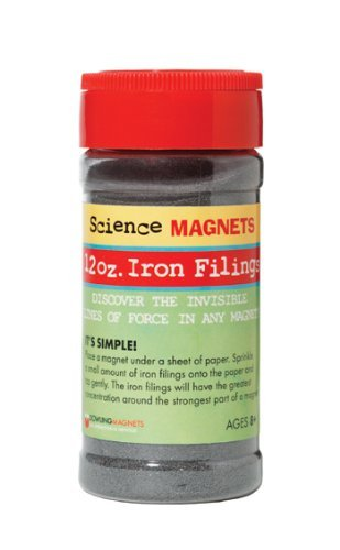 Iron Filings 12 ounce Container