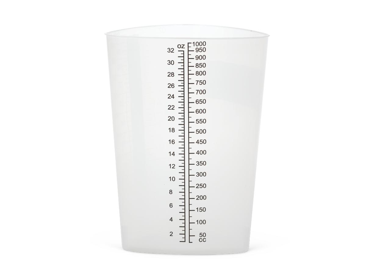 32 ounce Graduated Beaker with Black Marking