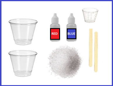 Epsom Salt Needle Crystal Growing Kit