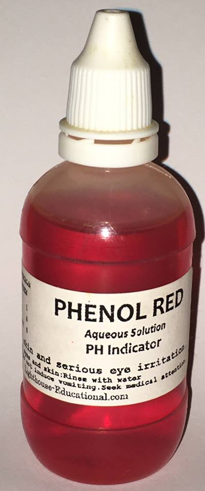 Phenol Red pH Indicator 50 mL