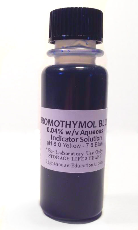 Bromothymol Blue 0.04% Indicator Solution 30 ml