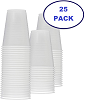 7 ounce Plastic Cup (Not Clear) - 25 pack