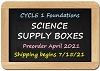 2021 C1 Science Supplies Box - Weeks 1-24
