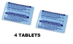 Seltzer Tablets Replacement (includes 4 tablets)