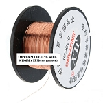 Copper Enameled Soldering Wire 15 M (49 ft)