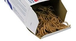 Rubber Bands Size 12 - 625 pcs approx (1/4-lb)