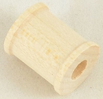 Small Wood Craft Spool 3/4 Inch