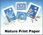 Nature Print SunPrint Paper 40 Sheets 5x7 with Acrylic Sheet