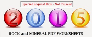 2015 Rock and Mineral PDF Documents (for previous sets)