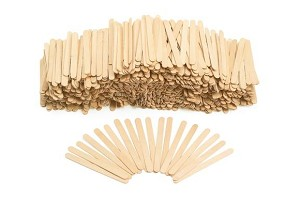 Wood Craft Popsicle Sticks 500 pieces