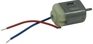 DC Mini Motor with Two Lead Wires