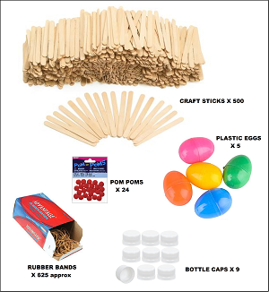 Catapult and Egg Protector Supplies - Cycle 2 Weeks 22-23