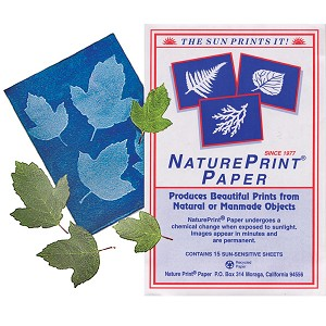 Nature Print SunPrint Paper 15 Sheets 5x7