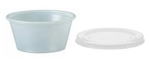 Disposable Paint and Craft Cups 10 pack - Optional Lids