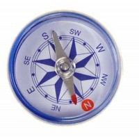 Magnetic Navigational Compass - 1.5 inch No Liquid