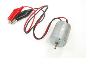 4.5v - 6v DC Motor with Attached Leads