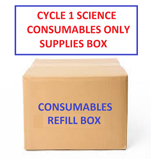 Classroom Consumables Refill Science Box - Weeks 1-24 - In Stock