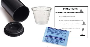 Film Canister Seltzer Rocket Kit